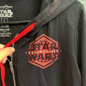 Disney Star Wars The Last Jedi Hoodie Size L 1D